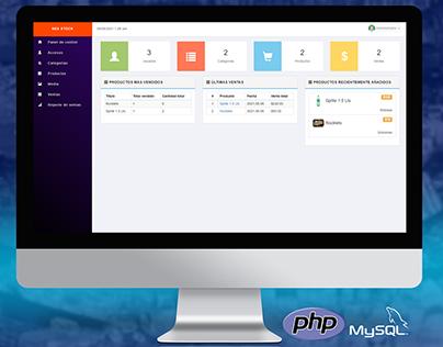 Stock y Ventas - PHP & MySQL
