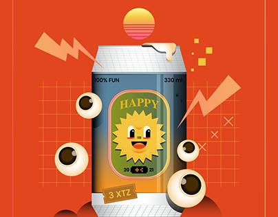 HAPPY AND FUN O1