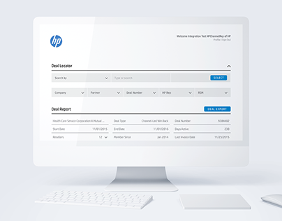 HP Big Deals | UI Design