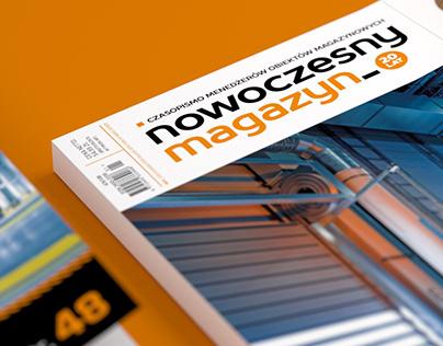 Nowoczesny Magazyn LAYOUT + LOGO