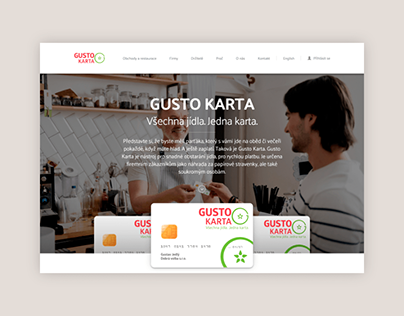 Gusto Karta – project website and registration