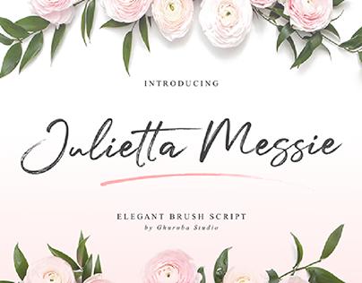 Julietta Messie | Brush Script Font
