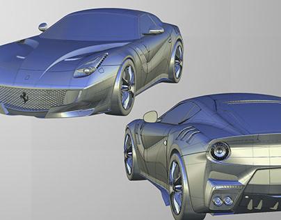 Ferrari F12 TDF - Alias / Dynamo Modeling