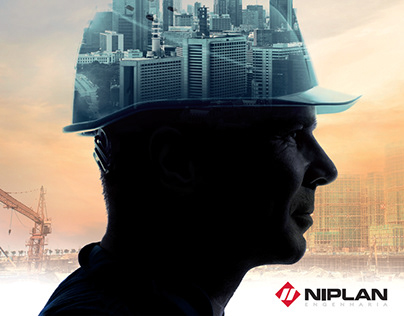 Cartaz Dia do Trabalho Niplan Engenharia.