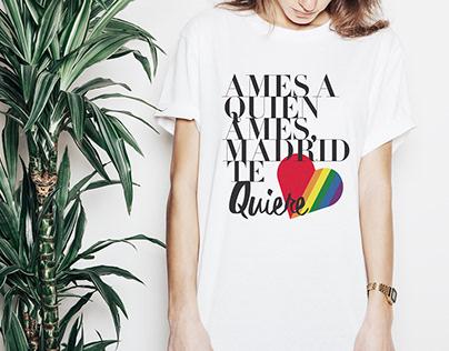 AME A QUIEN AMES, MADRID TE QUIERE. Logotipo