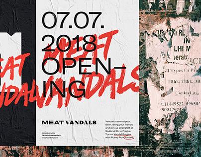 Meat Vandals – Restaurant Branding