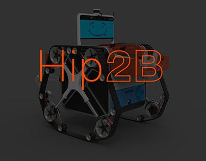 USMC Hip 2B Semi-Autonomous Rescue Robot