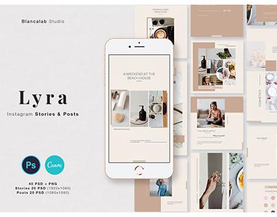 LYRA Social Media Pack