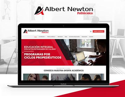 Diseño Web - Politécnico Albert Newton