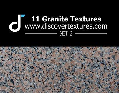 Set of granite texture 2