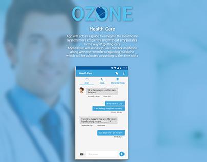 Ozone - Health Application