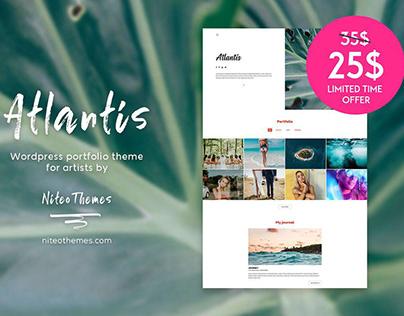Atlantis - Wordpress Portfolio Theme