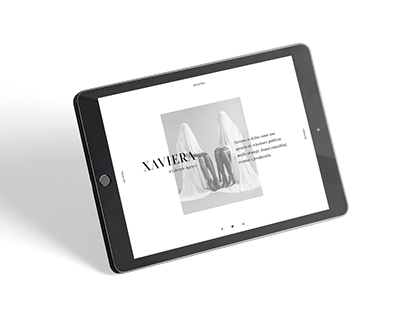 Xaviera · Sitio Web