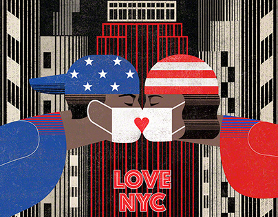 Love NYC by Balbusso Twins