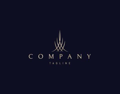 Elegant tower logo
