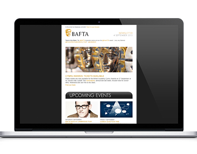 BAFTA HTML Newsletters