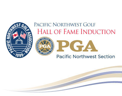 Pacific Northwest Golf Hall of Fame Visual Design