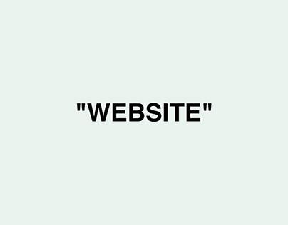 UI / UX • OFF-WHITE™ Redesign website