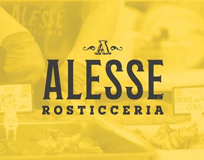Alesse - Food Brand Identity