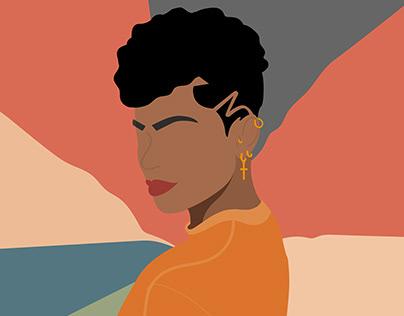 Ilustração Sheila
