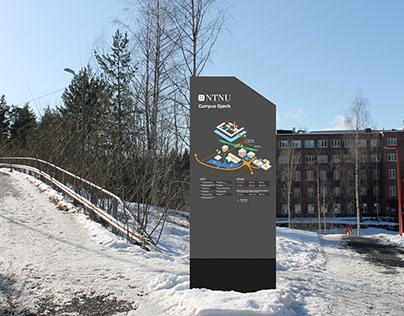 Veifinning for Institutt for Design NTNU Gjøvik