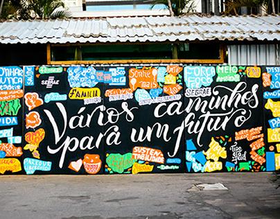 Intervenção Urbana - Sebrae Goiás