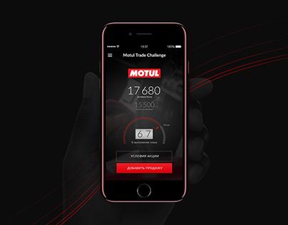 Motul - Trade Challenge App