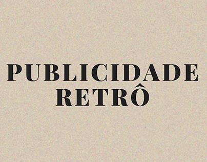 PUBLICIDADE RETRÔ