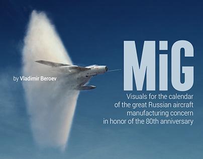 MiG. Visuals for the calendar