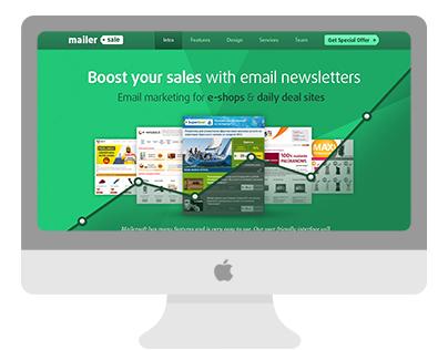 MailerSale.com web design