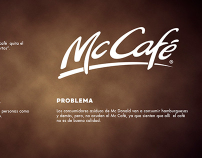 Campaña Gráfica McCafe