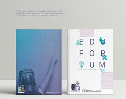 """Printed Designs """"Eduforum 2017"""" Forum"""