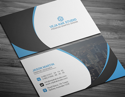 Corporate Business Card (Freebie)