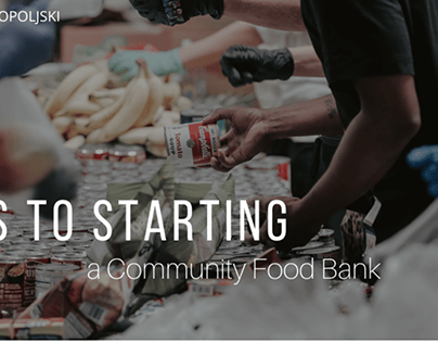 Steps to Start a Community Food Bank