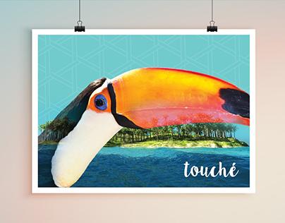 Toucan poster design