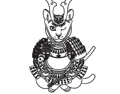 忍者の猫 / Ninja Cat