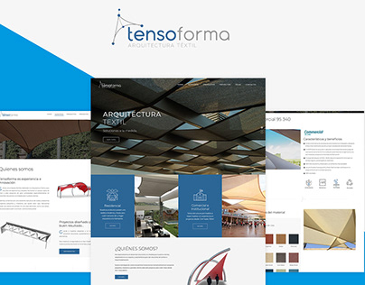 Sitio web Tensoforma - Chile