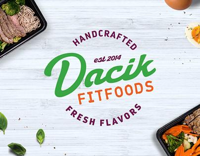 Dacik Fit Foods Brand Identity & website