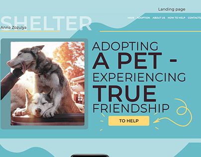 An animal shelter