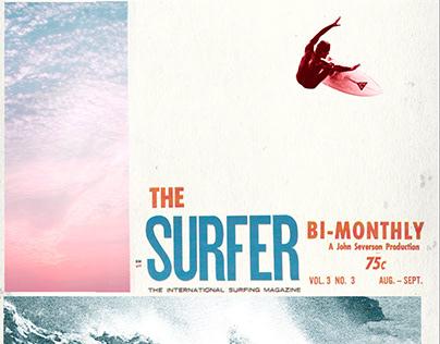 Surfer Magazine collages
