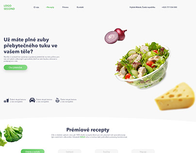 Food company /czech design/ uix