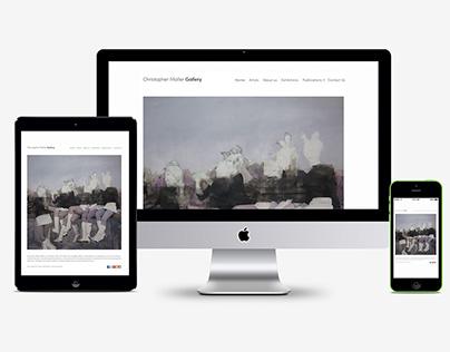 Art Direction/ Website Layout/ Contemporary Fine Art