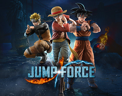 Jump Force Key Art