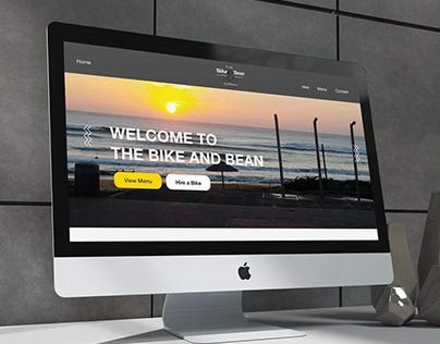 Web Design | The Bike & Bean