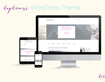 Daydreams: A WordPress Theme