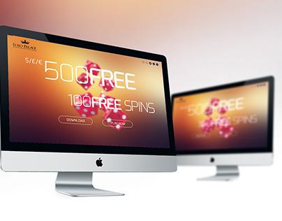 UI - Splash Page Design Promotion.