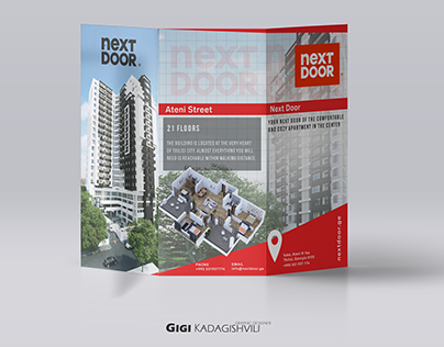 NEXT DOOR BROCHURE DESIGN