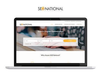 SEONational - Redesign