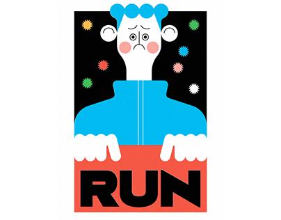RUN + バブルガム
