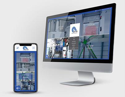 ADIRAN - website UX and UI.